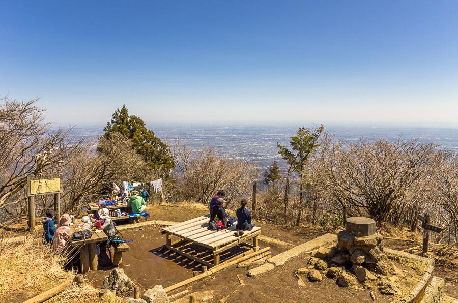 Tokyo hikes Mt. Oyama